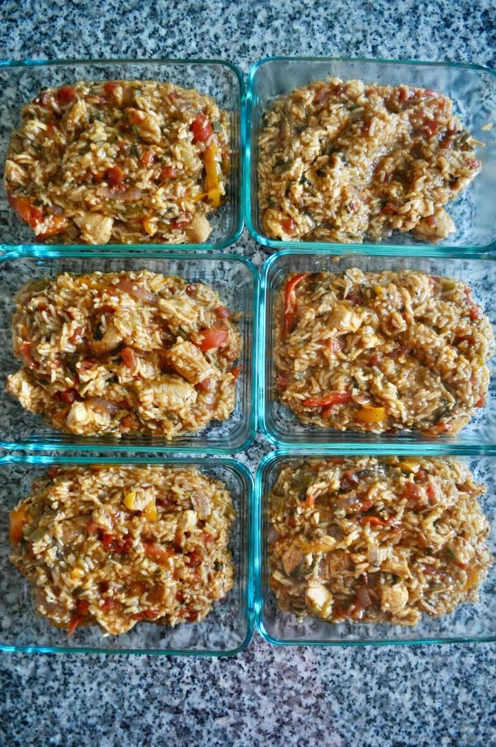 Instant Pot Meal Prep FajitaCasserole
